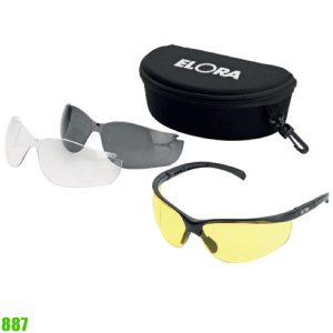 887 safety goggles 3 IN 1. ELORA Germany