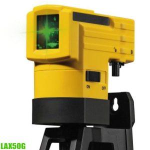 LAX50G Máy cân bằng laser tia xanh, khoảng cách 30m, độ chính xác ±0.5mm/m