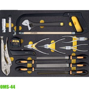 OMS-44 Module VDE pliers 16 pcs, for Elora roller tool cabinets