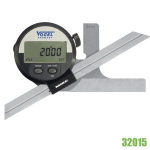 32015 Electr. Digital Univ. Bevel Protractor • IP51. Made in Germany