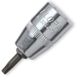 "3244-TX SCREWDRIVER SOCKET 3/8"". ELORA Germany"