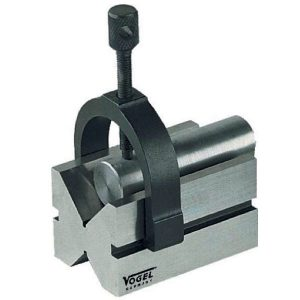 33300 Series V-Block with Clamp, for clamping cylindrical pieces