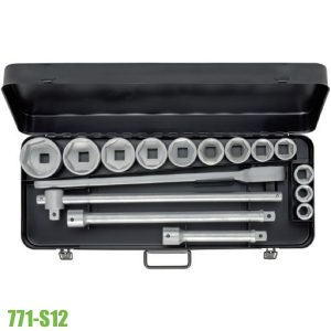 "771-S12 SOCKET SET 3/4"". ELORA Germany"