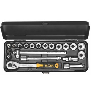 "870/871-JSU SOCKET SET 3/8"".  ELORA Germany"