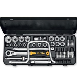 "770-/771-LIM Socket Set 1/2"",  31 pcs. Made in Germany"