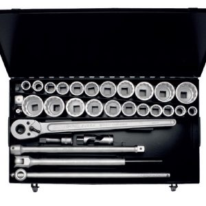 "770-S22 SOCKET SET 3/4"", 32 PCS. Made in Germany"