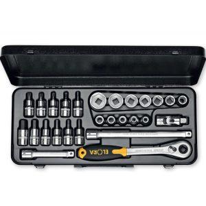 "771-LMITT Socket Set 1/2"", 30 pcs. Made in Germany"