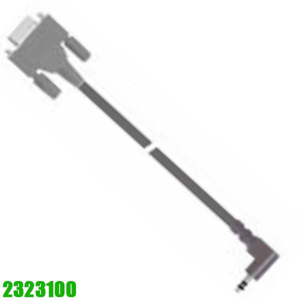 2323100 RS232 - cinch plug 90° (3-wire).  Vogel Germany