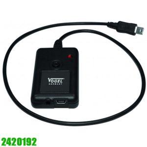 2420192 Data transfer via cable. Vogel Germany