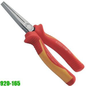 920-165 VDE FLAT NOSE PLIER WITH HANDLE INSULATION