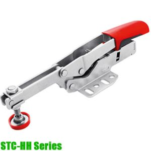 STC-HH Series Horizontal toggle clamp with open arm and horizontal base plate
