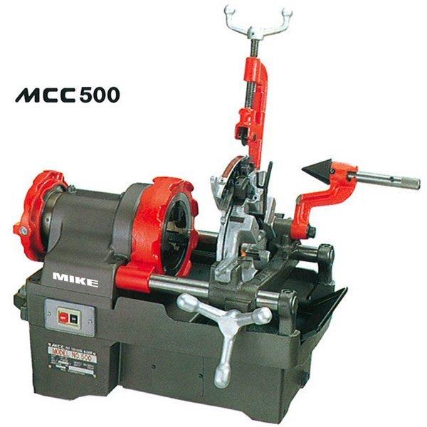 MCC500 máy tiện ren ống nước đường kính tới 2 inch, sx tại Nhật Bản.