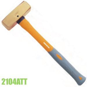 2104ATT Brass hammer with fiberglass handle