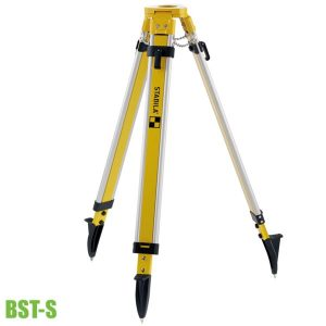BST-S construction tripod height-adjustable from 100 cm to 160 cm