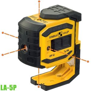 LA-5P 5-point laser. Measuring range visible point 30 m