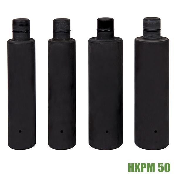 Hydraulic puller BETEX HXPM 50 ton adaptors