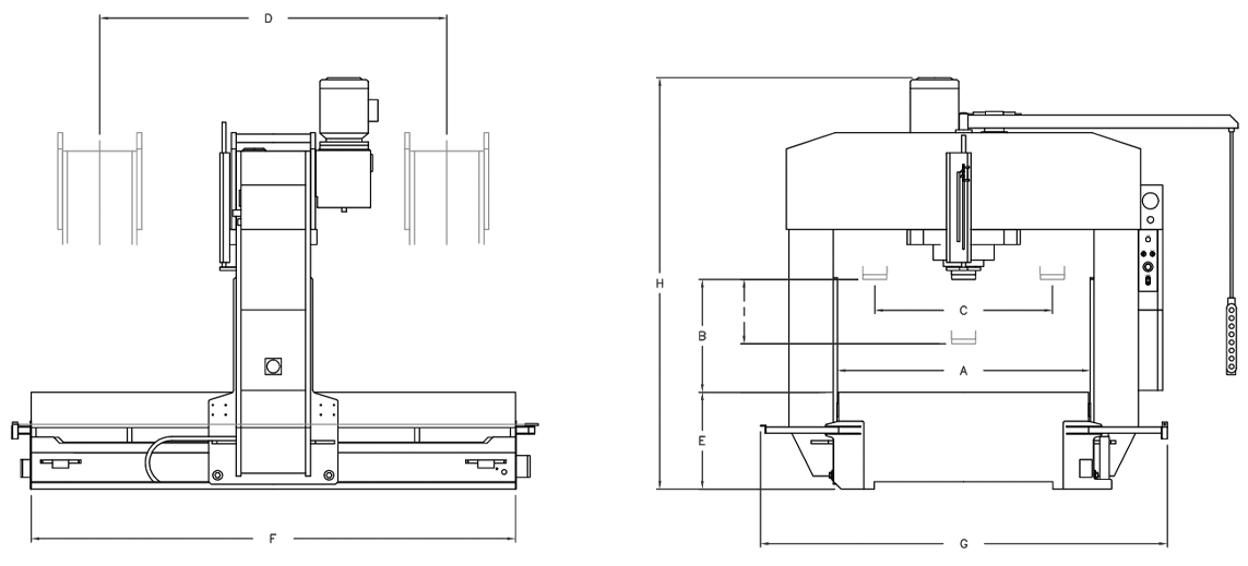 BETEX PFPE TL150 220 300 - Dimensions