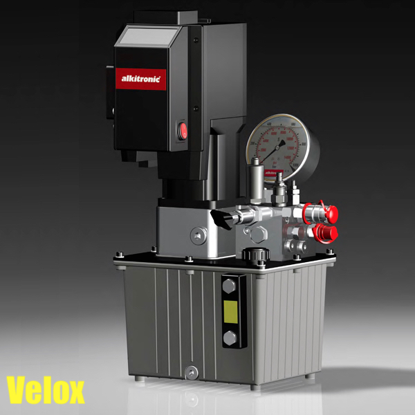 VELOX Electric Hydraulic Pump for torque wrenches - Alkitronic